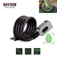 DAYTECH Fingerprint Door Lock Anti Theft Bike Lock for Bicycle/Motorcycle IP65 Waterproof
