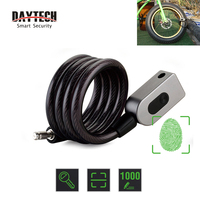 DAYTECH Fingerprint Door Lock Anti Theft Bike Lock for Bicycle/Motorcycle IP65 Waterproof