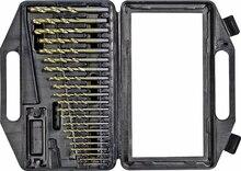 Набор сверл по металлу шлифованных КРАТОН d1-10 мм 21 шт
