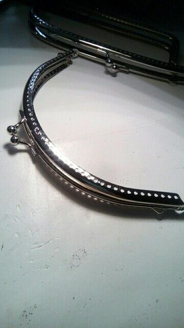 THINKTHENDO 1PC metalen frame kusbeugel boog DIY Craft voor tas zilver tone 12.5cm photo review