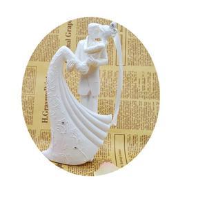 Image 4 - Romantic Figurine Bride Groom Hug And Kiss Bachelorette Party Bride Groom Wedding Party Decoration
