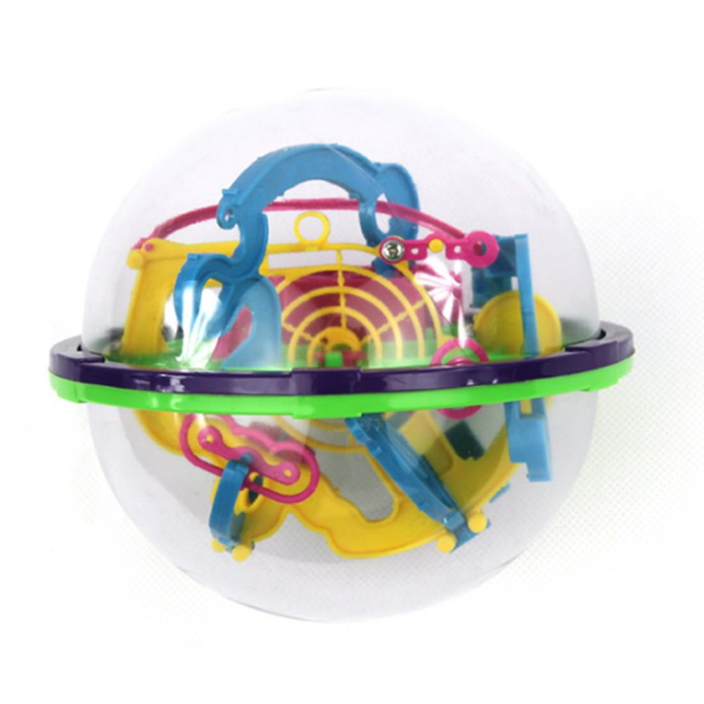 Большой размер 3D лабиринт волшебный прокатный Глобус шар мраморная головоломка кубики логический шар-лабиринт