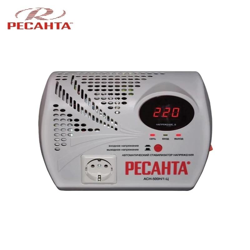 Voltage stabilizer RESANTA ASN-500N/1-C voltage regulator resanta asn 12000 n1 c