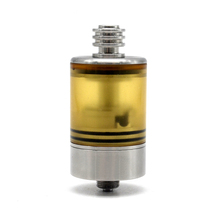ULTON Patibulum Style 22mm Mtl atty RTA Ultem Tank section vape Tank Single coil Atomizer for 510 thread vape mods/mech mod стоимость
