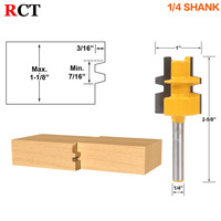 Glue Joint Router Bit Medium Reversible 1 4 Shank Woodworking Cutter Tenon Cutter For Woodworking Tools