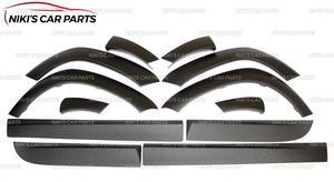 Image 2 - Ensemble arcs de roues et moulures pour Renault / Dacia Duster 2010 à 2017, 1 ensemble/12p, housse de protection en plastique ABS, style pour voiture