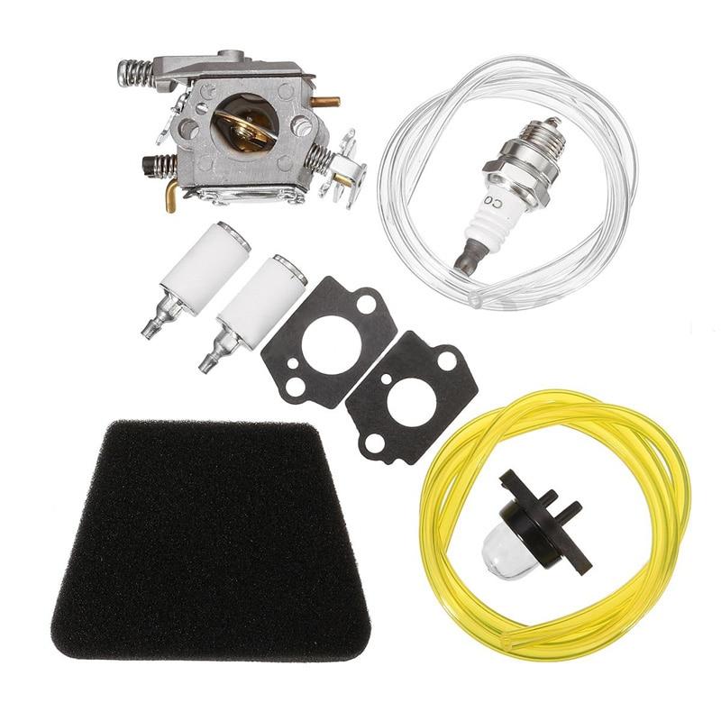 Novo kit carburador para poulan motosserra 1950 2050 2150 2375 walbro wt 891 ferramentas da motocicleta do carro snowblower acessórios