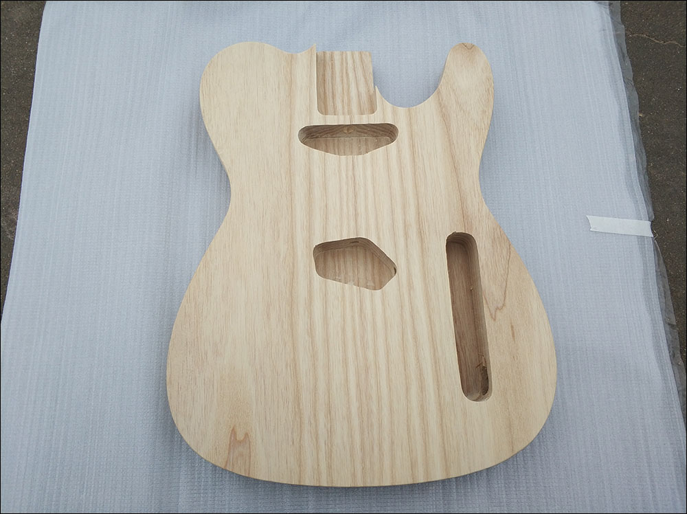 High quality, ash TL guitar body, just body china s guitar high quality unfinished tl electric guitar ash diy guitar real photos free shipping