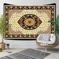 Еще персидский этнический коричневый традиционный дизайн килим 3D принт декоративный хиппи богемный настенный гобелен с пейзажем настенна...