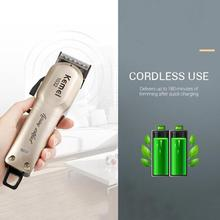 110v-240v Turbocharged rechargeable hair clipper professiona