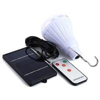 Солнечный свет Светодиодные лампы 1.5 Вт 5 В 140LM белый лампада ампулы солнечные ночника для внутреннего открытый свет лампы