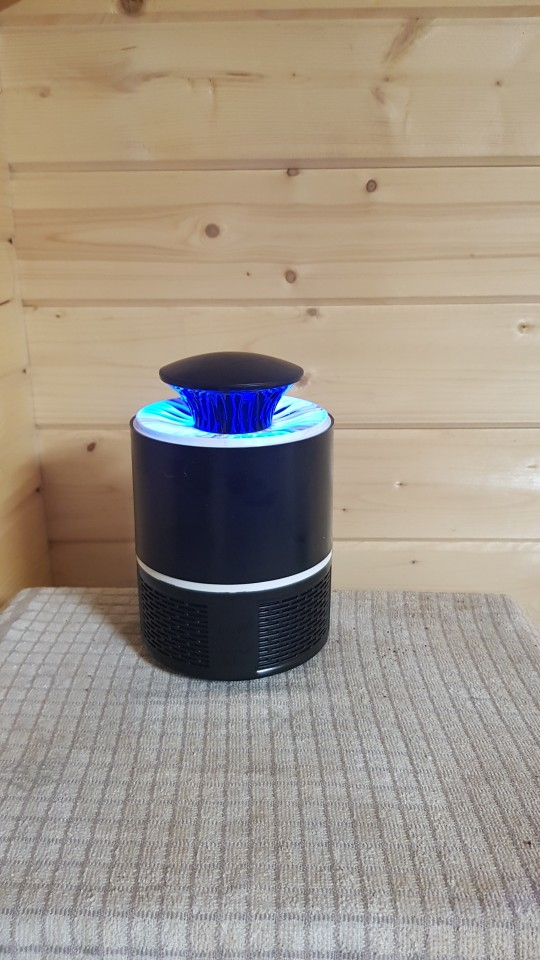 MOSQUITO TRAP X™ – USB POWERED LED MOSQUITO KILLER LAMP [QUIET + NON-TOXIC]