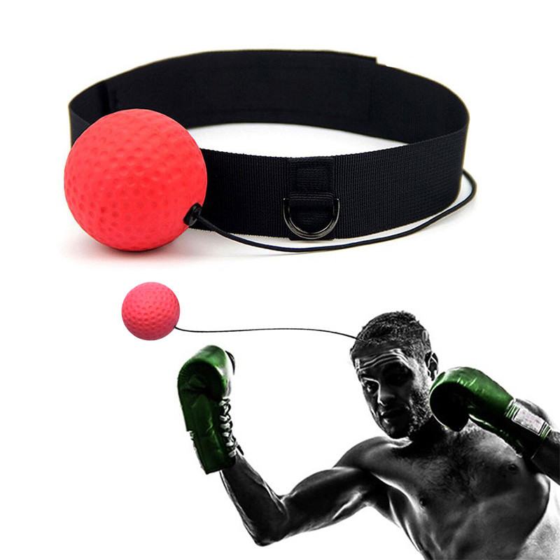 Dropshipping Boxing Equipment Boxing Ball Training Accessories Reflection Speed Ball Thai Trainer Quick Response Ball Stamping reflection