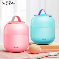 500ml 700ml High Quality Every Aspect Stew Pot Stainless Steel Students Insulation Multi Layer Protection Children