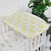Детские Узорчатая пеленка Обложка для новорожденных кожи мягкие дышащие простыни Стандартный Пеленальный стол колодки наматрасник