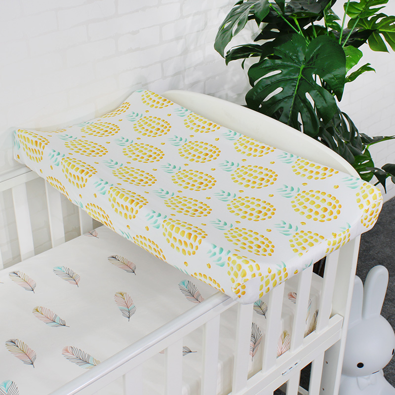 Baby Diaper Changing Pad Cover For Newborns Skin Friendly Soft Breathable Sheet For Standard Changing Table Pads Mattress Cover