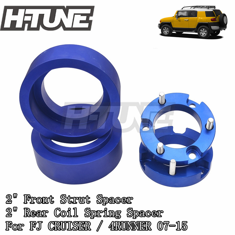 H TUNE 4x4 Accesorios Front and Rear Extended 2inch Lift Kits Leveling Kits 4WD For FJ