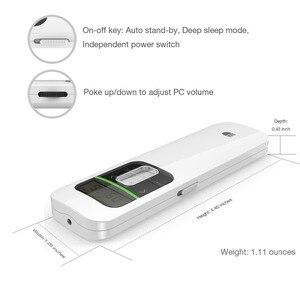 Image 5 - Kablosuz Sunum Şarj Edilebilir Sunum Uzaktan ile lcd ekran 2.4 GHz USB Noktası PPT Clicker Uzaktan Kumanda Fare