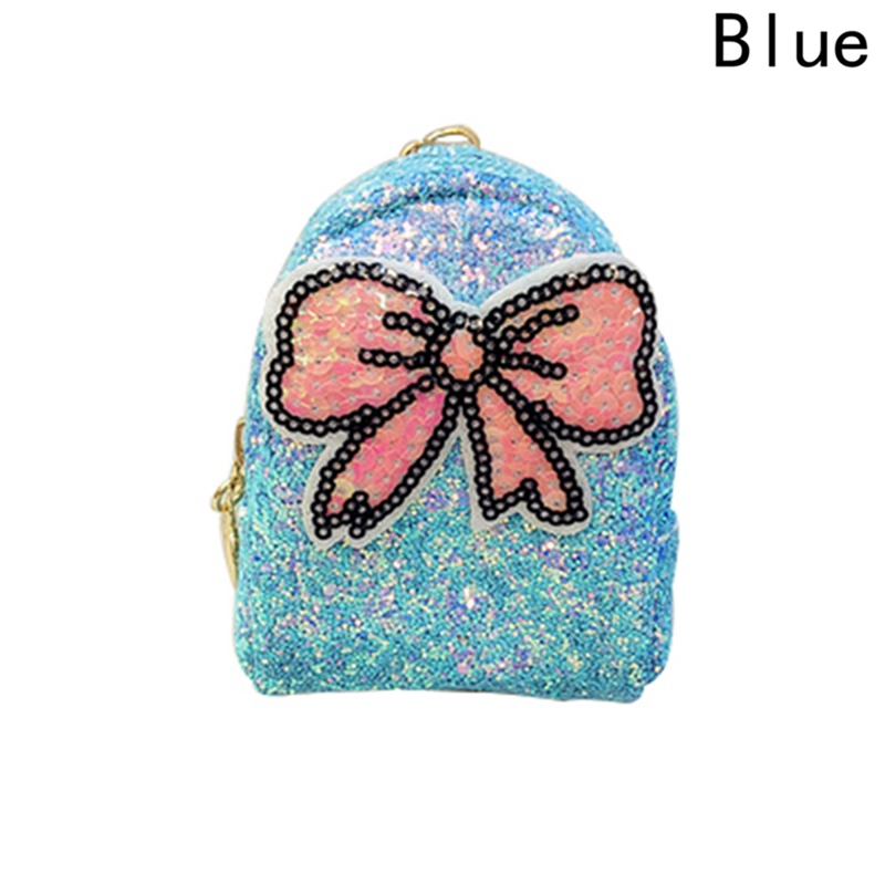 2018 Fashion Women Sequin Bowknot Coin Purse Wallet Small Girl Key Bag Unique Lady Clutch Bag Mini Beach Bags
