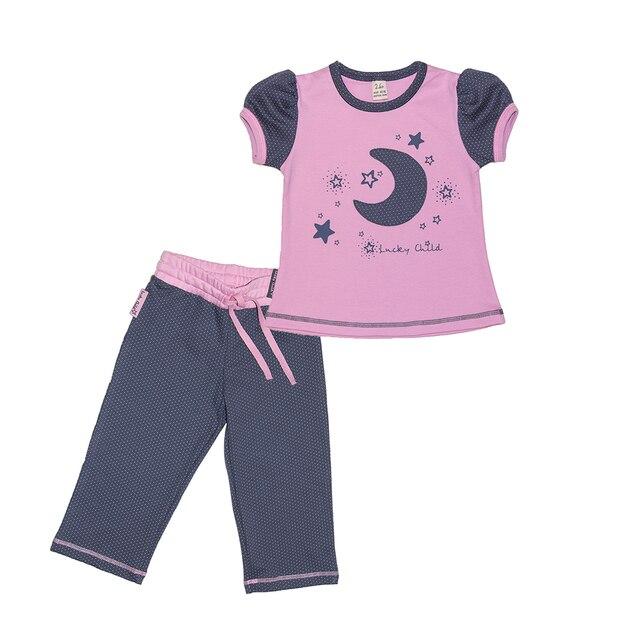 Пижама Lucky Child для девочек [сделано в России, доставка от 2-х дней]