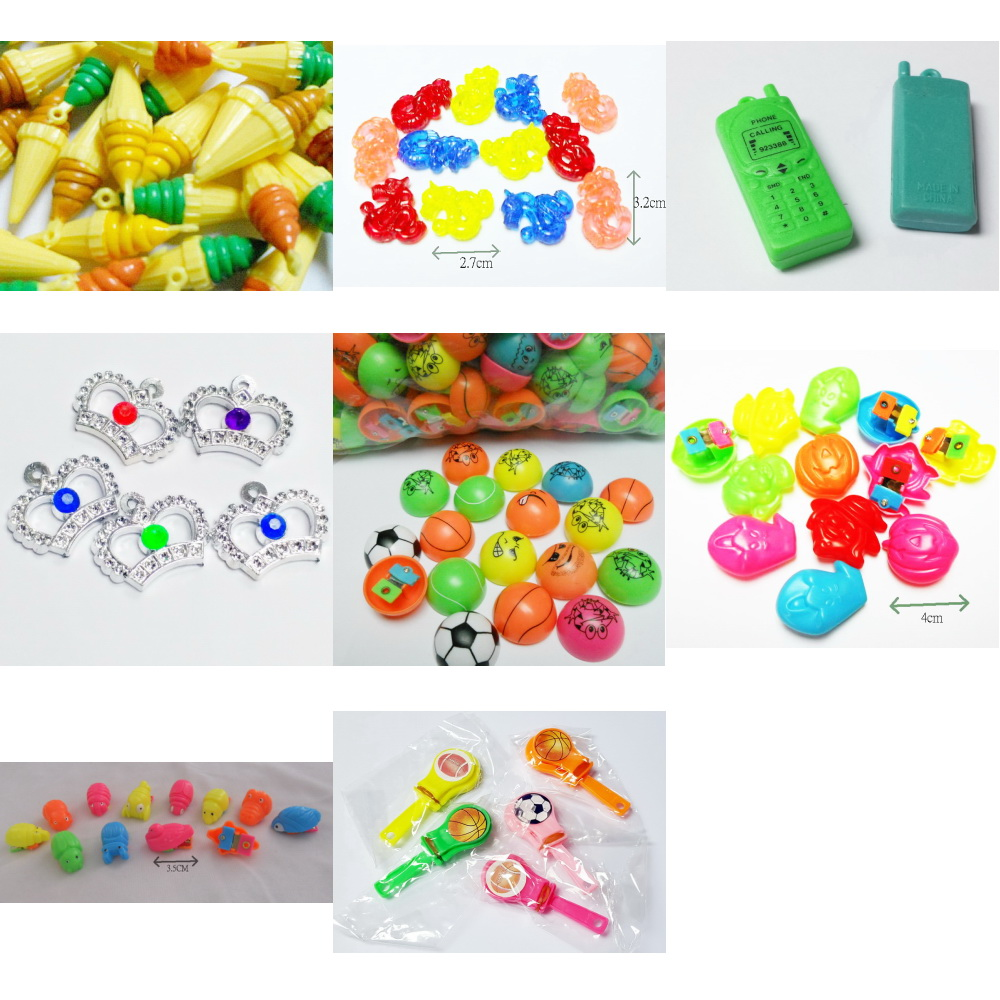 VINTAGE Plastic Pendant Charms For Retro Fashion Party Jewellery Beads Cup Cake Topper Retro Fashion Jewellery Chain Clip Mix