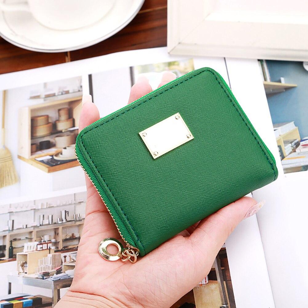 Fashion Lady Faux Leather Small Wallet Card Holder Zip Coin Purse Clutch Handbag fashion women leather small wallet lady card holder zip coin purse bag