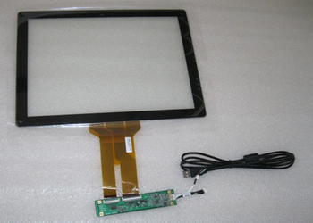 19 inch 10 point 4:3 capacitive touch screen with USB interface support Win7/8/10 plug and play,andrio need to install driver