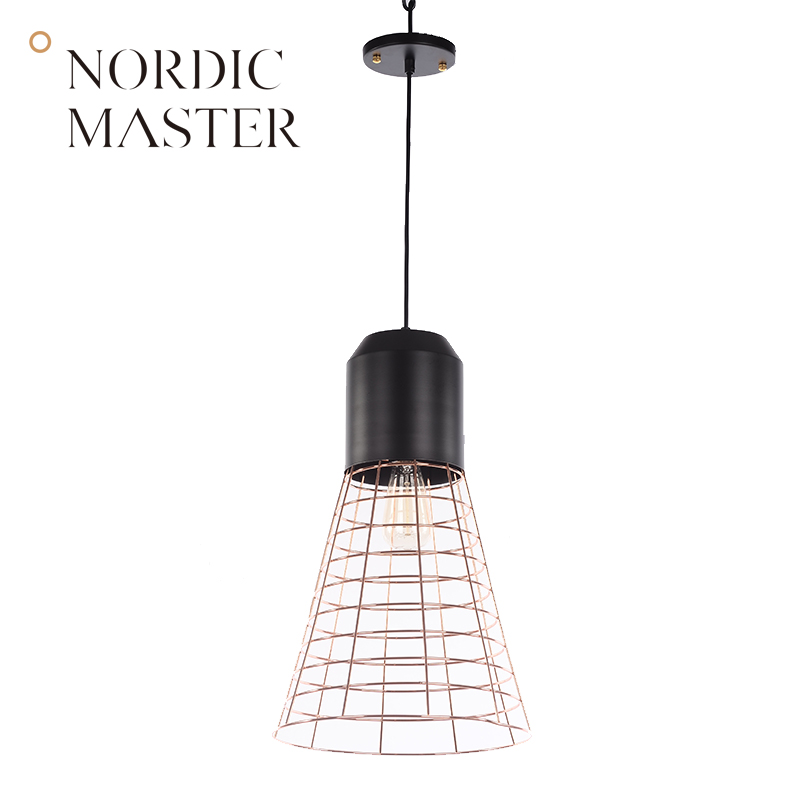 Nordic Master Modern Pendant Lights Lamps for Dining Room Black White Fashion LED Pendant Lighting Simple Suspension Lamp 60028S