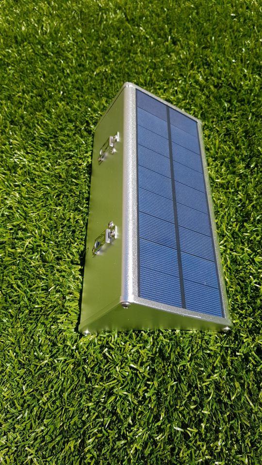 Lâmpadas solares Sensor Movimento Movido