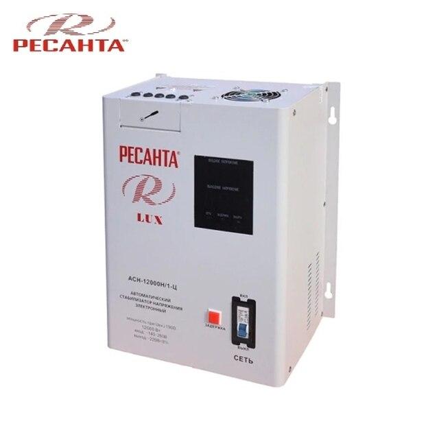 Однофазный стабилизатор напряжения Ресанта ASN-12000N/1-C LUX
