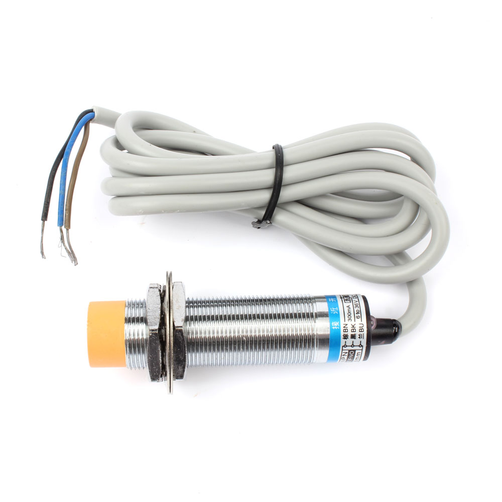 hight resolution of dianqi inductive proximity sensor lj18a3 8 z bx npn 3 wire no diameter 18mm proximity switch