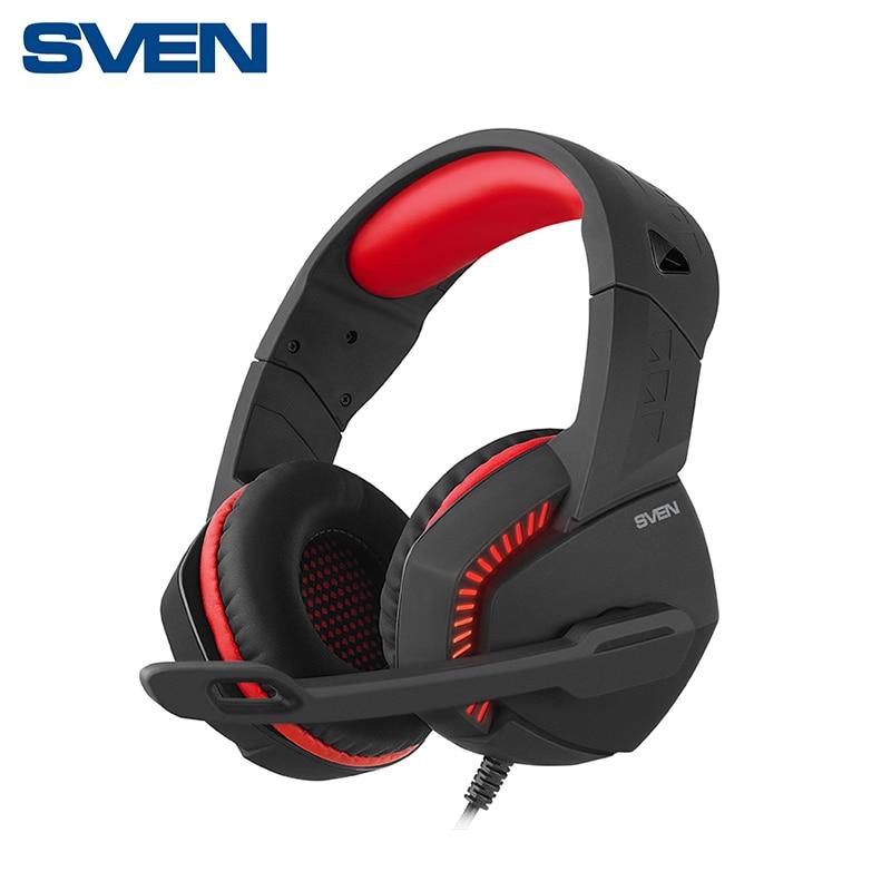 Фото - Gaming Headset with mic SVEN AP-U989MV аккумулятор для компактных камер и видеокамер acmepower ap du14