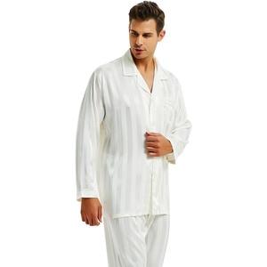 Image 4 - ผ้าไหมซาตินชุดนอนชุดนอนชุดนอน Loungewear S, M, L, XL, 2XL, 3XLL, 4XL