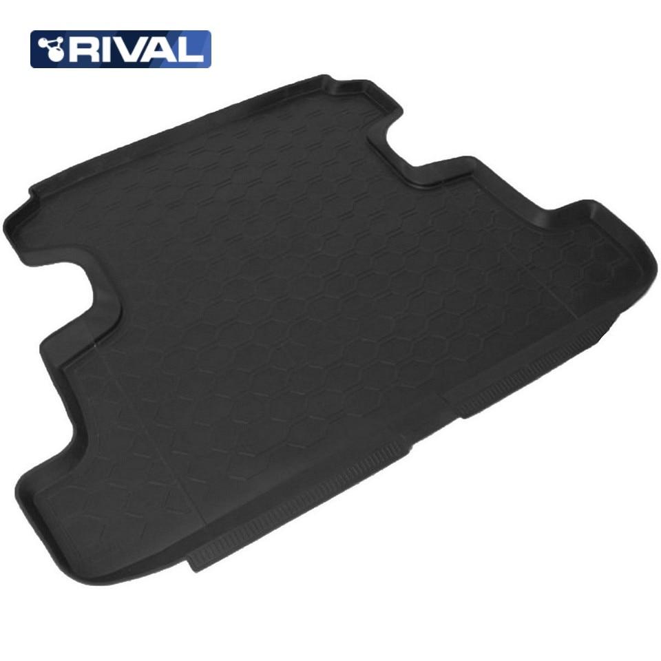 цена на For Lada Niva 4x4 2131 5-doors trunk mat Rival 16005002