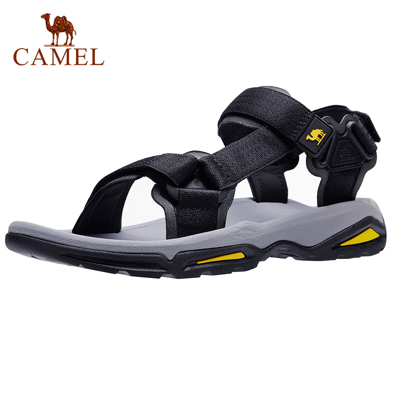 CAMEL Men Shoes Footwear Sandals-Strap Hiking Outdoor Waterproof Male Summer Beach Men's title=
