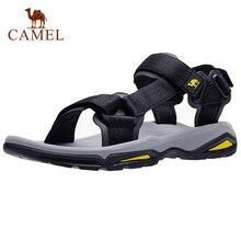 CAMEL Men's Sandals Strap Athletic Men Shoes Waterproof Hiking Walking Beach Outdoor Summer Male Footwear