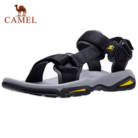 CAMEL Men's Sandals Strap Athletic Men Shoes Waterproof Hiking Walking Beach Outdoor Summer Male Footwear