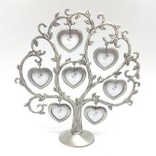 Love Heart Tree Wall Hanging Picture Metal Collage Photo Frame