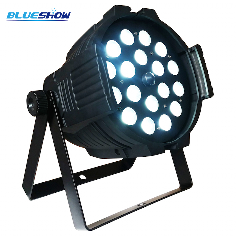 zoom par 18x12w rgbw 5in1 led par light