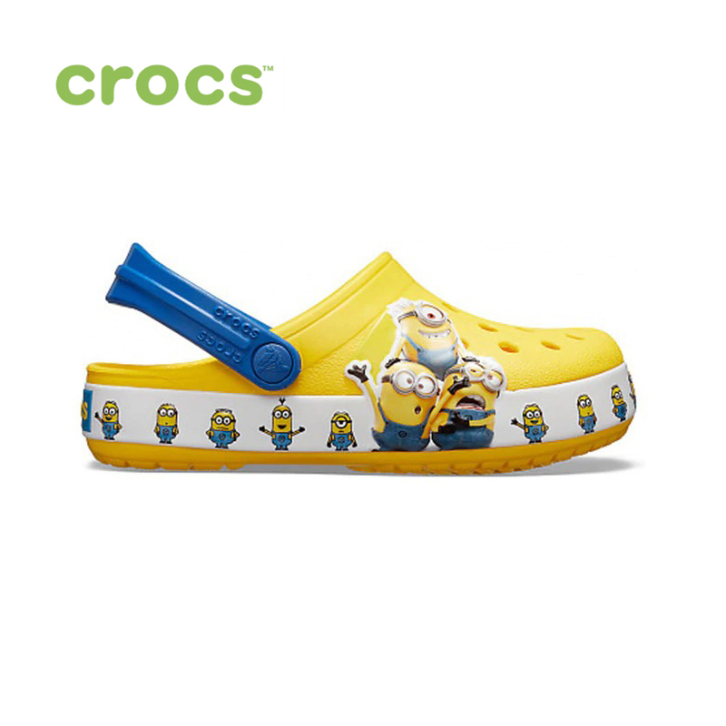 CROCS CrocsFL Minions Multi CLG K KIDS or boys/for girls, children, kids TmallFS shoes