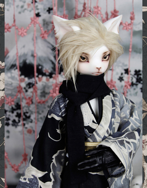 HeHeBJD Oskar Creature Claw  1/4 resin bjd body model reborn free shipping 3