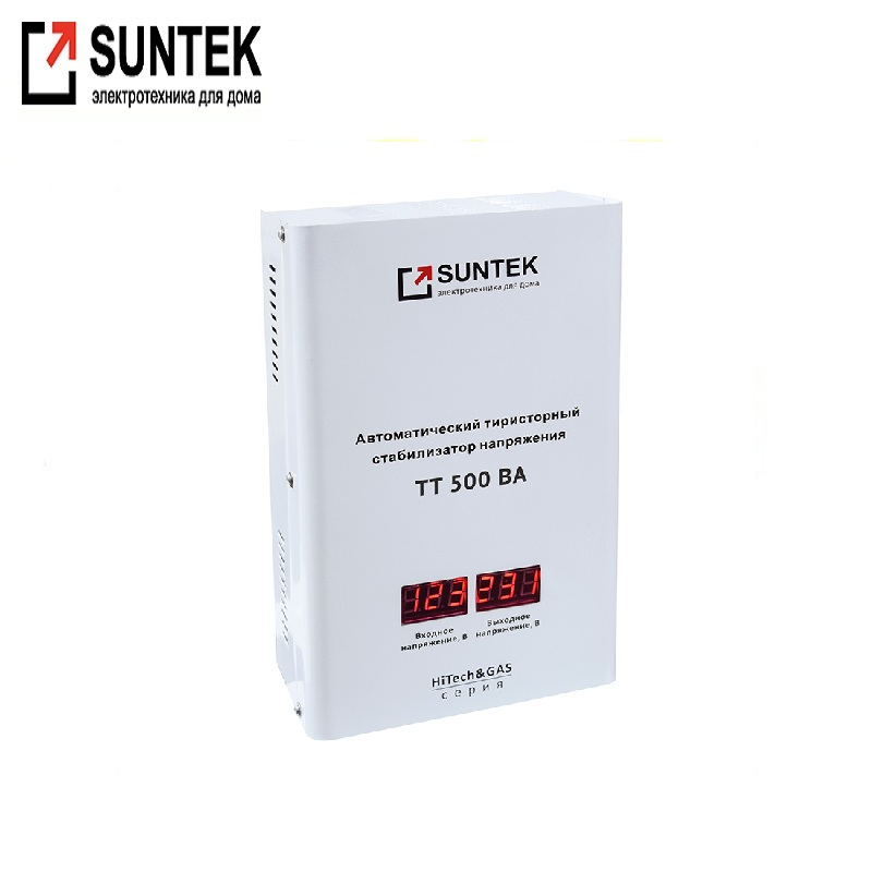 Voltage stabilizer thyristor SUNTEK Hitech & GAS 500 VA AC Stabilizer Power stab Stabilizer with thyristor amplifier цена и фото
