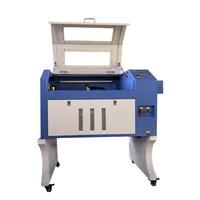 Máquina do laser do gravador do desktop 4060 6040m2 com co2 60w 80w 100w