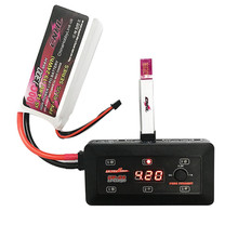 Ultra Power UP-S6 6×4.35W DC Digital Screen 1S Balance Charger For Micro MX MCPX LiPO/LiHVO Battery RC Camera Drone FPV DIY Accs