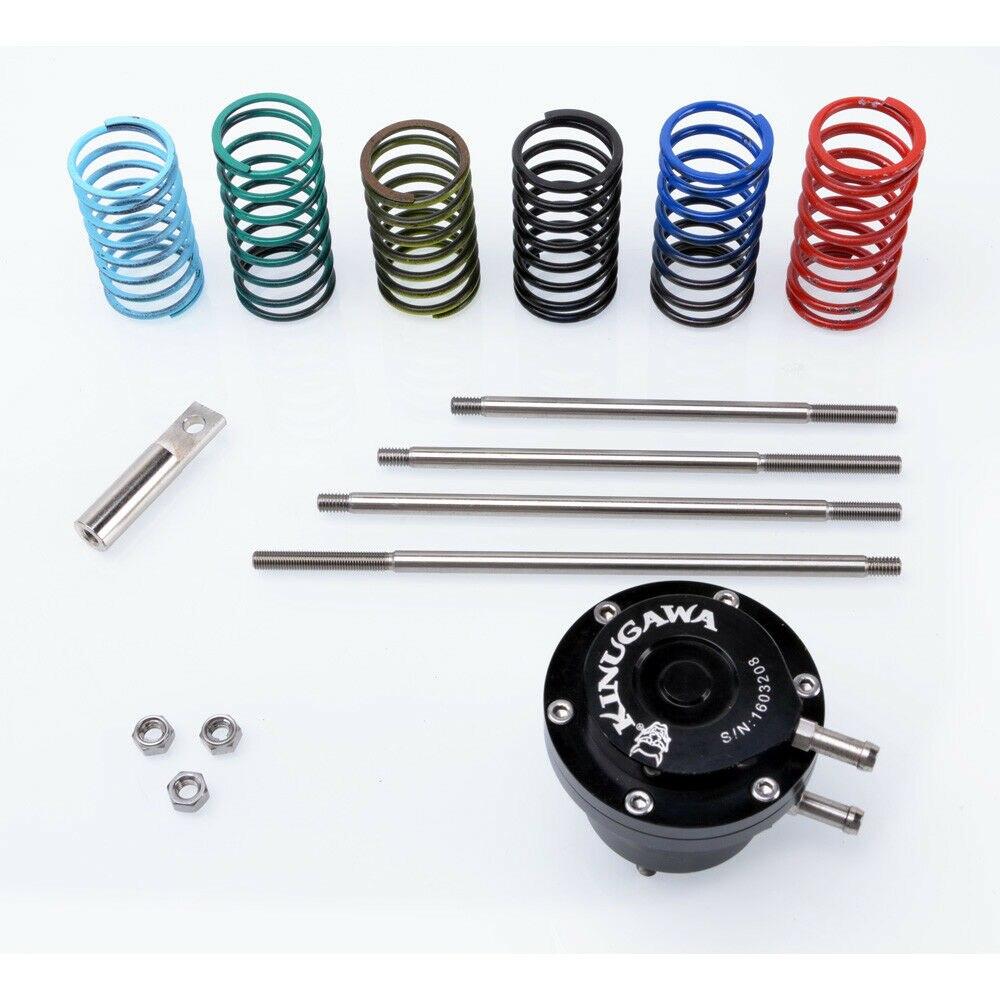 Kinugawa Adjustable Turbo Dual Port Wastegate Actuator w/ 6 x spring & 4 x Rod for UniversalKinugawa Adjustable Turbo Dual Port Wastegate Actuator w/ 6 x spring & 4 x Rod for Universal