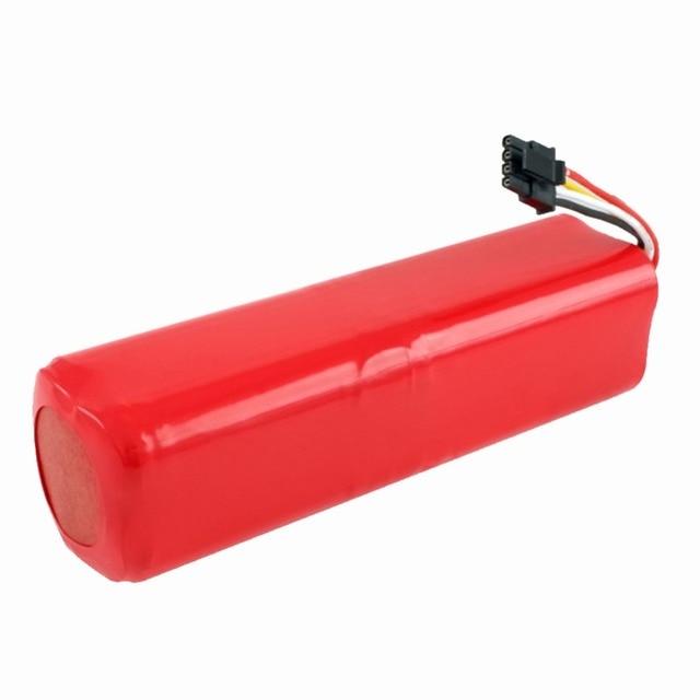 Haute qualité Rechargeable Xiaomi mijia robot batterie + 2 pièces brosse latérale 14.4V 5600mAh robot aspirateur accessoires pièces