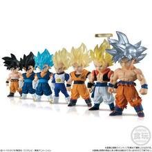 Оригинальный Bandai Dragon Ball Z DBZ Goku Gogeta Вегета из ПВХ Рисунок игрушечные лошадки Figurals куклы