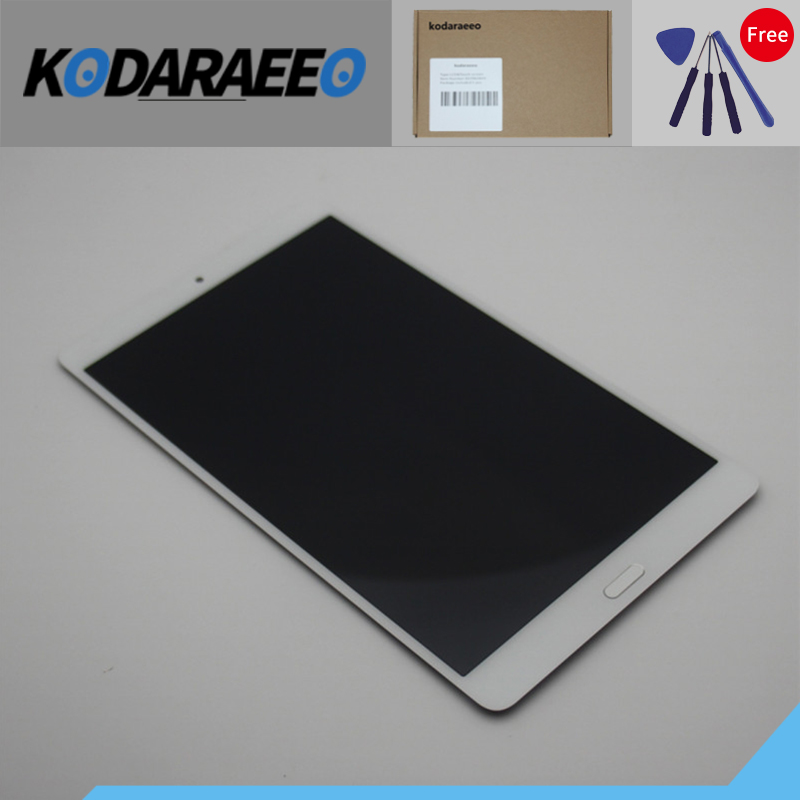 Kodaraeeo For Huawei MediaPad M3 8.4 BTV-W09 BTV-DL09 Touch Screen Digitizer Sensor with full LCD Display Panel Assembly new 7 for huawei mediapad t2 7 0 lte bgo dl09 lcd display matrix with touch screen panel digitizer full assembly parts