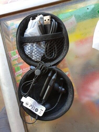 Baseus S06 Bluetooth Earphone Wireless Magnetic Neckband Bluetooth Headset Sport Earphone Stereo Earpieces For Samsung Xiaomi-in Phone Earphones & Headphones from Consumer Electronics on AliExpress