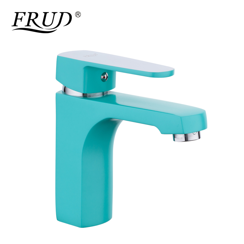 Frap Basin Faucet Kitchen Bathroom Sink Faucets Single Handle Hot and Cold Water Mix Taps Chrome